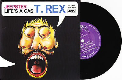 "T. Rex - Jeepster / Life's A Gas - 7"" EU Vinyl 45 - New & Unplayed"