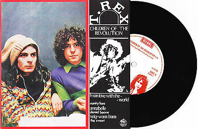 "T. Rex - Children Of The Revolution / Jitterbug / Sunken - 7"" EU Vinyl 45 - New"