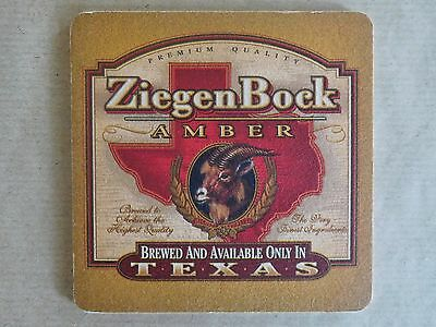 ZIEGEN BOCK Amber beer mat coaster new 1pcs 02zz