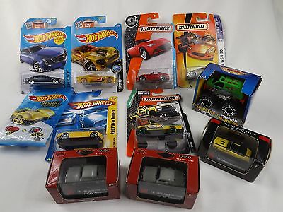 Hot Wheels Matchbox Etc Die Cast Cars Mixed Lot in Packages Lot of 10