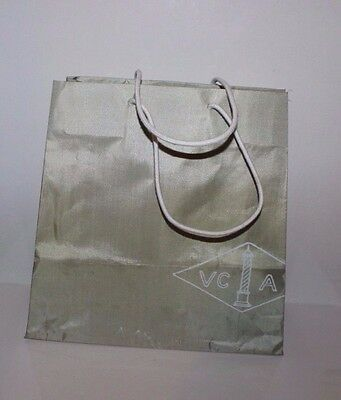 Van Cleef & Arpels Paper-Shopping-Gift-Bag With Rope 12'' by 12'' by 4''