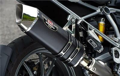 Yoshimura Japan Hepta Force Black Magic Road Legal Exhaust Can Bmw R1200Gs Lc