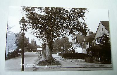 Old Photographic Postcard The Beeches Carshalton Sutton Greater London