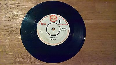 The Hi-Tones – Ten Virgins / Too Young To Love. Island Records – WI-086