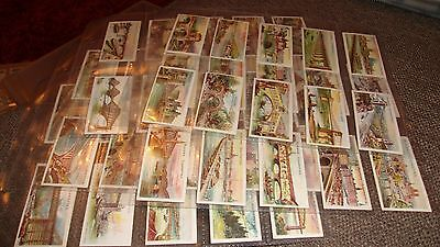 Cat £130.players Celebrated Bridges - F/set 50 Cigarette Cards In Sleeves - 1903