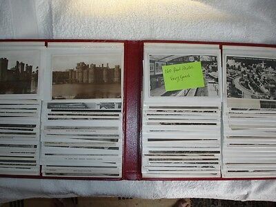 A Beautifull postcard album with a 160 postcards of UK