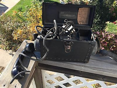 Nice vintage antique Automatic Electric Monophone railroad? military? telephone