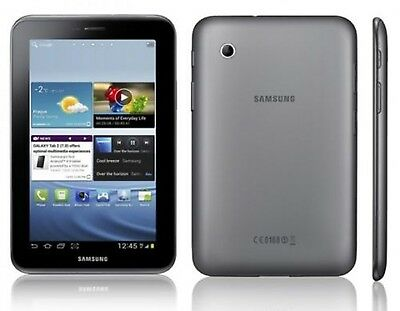 Tablet Samsung Galaxy TAB 2 7.0 GT P3110 16 GB Wi-Fi Antracita Gris Impecable