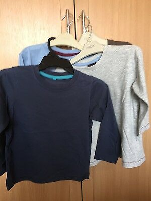 boys long sleeve tops bundle age 2-3 excellent condition