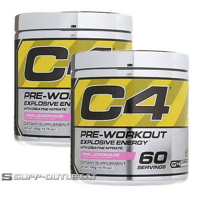 Cellucor - C4 G4 Chrome - 390g/2x390g, Pre-Workout, Pump, Booster Muskelpumpe