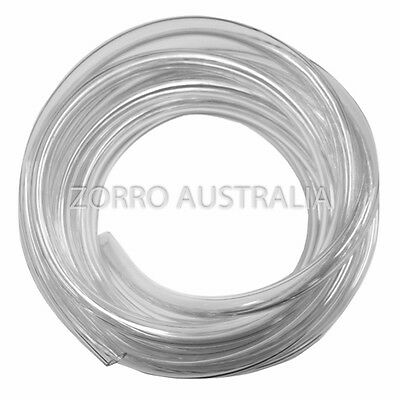 "NEW Clear Vinyl Tubing Hose 12mm I.D. - 1/2"" Made in Australia"