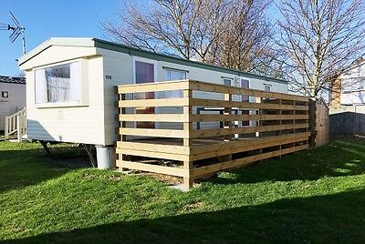 Holiday home caravan in Nutts farm sea view Leysdown-on-sea to rent for £350p/w