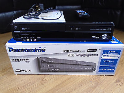 Panasonic DMR-EZ48V DVD Recorder And VCR Recorder Combo Spares Or Repair