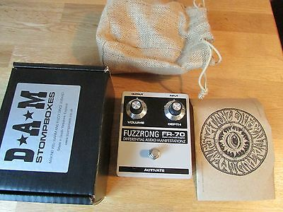 D*A*M FR-70 Fuzz Rong fuzz pedal - mint and boxed