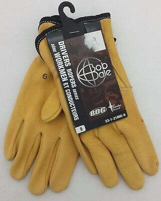 Bob Dale Drivers Ropers Series Gloves Sz. 9