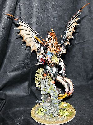 Archaon Everchosen painted Age of Sigmar custom base