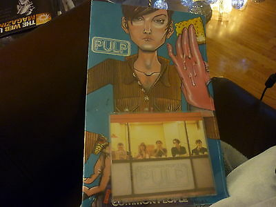 PULP Common People RARE 1995 PROMOTIONAL ONLY JAMIE HEWLETT COMIC BOOK & CD NEW