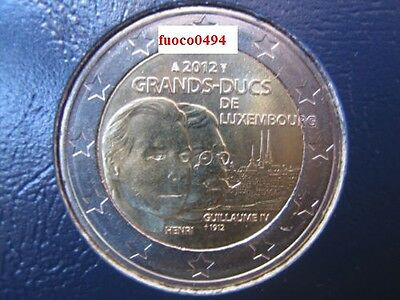 2 euro luxembourg 2012  ( guillaume IV )