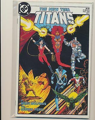 New Teen Titans 1-50 Run Lot Of 50 Vf/nm 1984