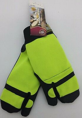 Lumber Works Chainsaw Gloves Sz- Large