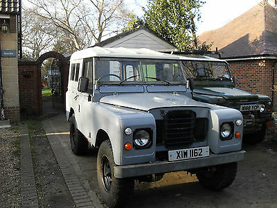 "Land Rover 88"" - 4 Cyl Grey"