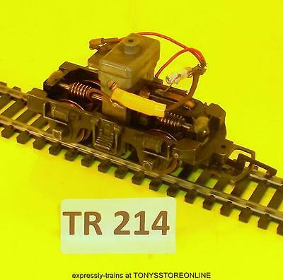 tr214)triang oo s/h spare 1x x3166 power bogie suits r253 dock shunter working