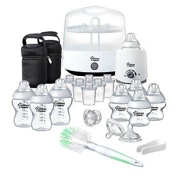 Tommee Tippee Frustration-Free Packaging Complete Feeding Set (Closer to Nature)