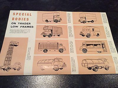 New Low Frame Ford Thames Trader, 30 cwt. 2, 3, 4 & 5 Tons, Brochure