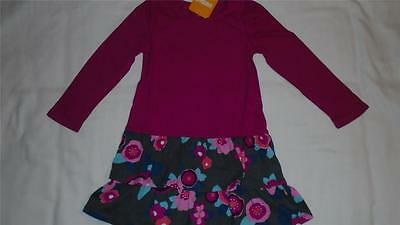 NEW Girls Size 18-24 Months Gymboree Dress Pink and Floral 2016 Line NWT