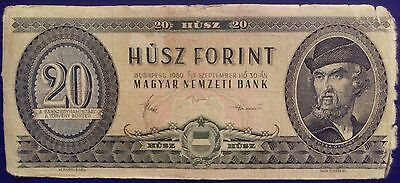 Hungary 20 Forint Banknote