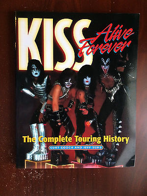 Kiss Memorabilia: Kiss Alive Forever Complete Touring History Book