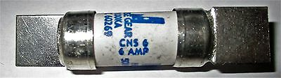 NS 6Amp BS88 HRC Industrial Fuse New Not Used