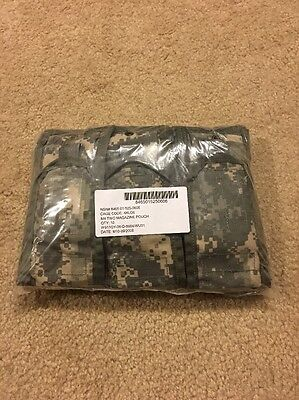 Lot of 10 Double Mag Pouches ACU - Molle II Two Magazine Pouch  US Army Ten Pack