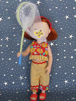 """Madeline 8"""" doll Eden/LearningCurve BUTTERFLY CATCHER Clothes Set"""