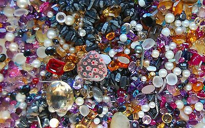 Huge Lot Of Breakout Gemstones Loose Stones From Scrap Gold 2540 Carats Sapphire