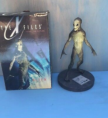 THE X-FILES Alien Maquette Statue Reel Images Mulder Scully Limited Edition