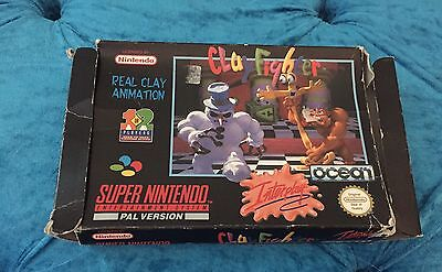 Clay Fighter Super Nintendo Game Box Only Retro SNES