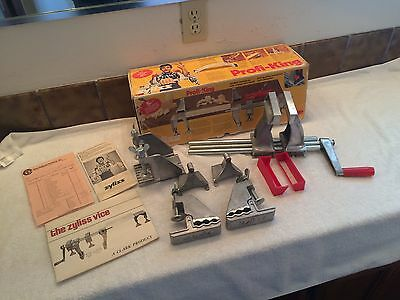 Zyliss Profi-King Nr. 208.000 Work-Holding Vise Clamp Swiss Made