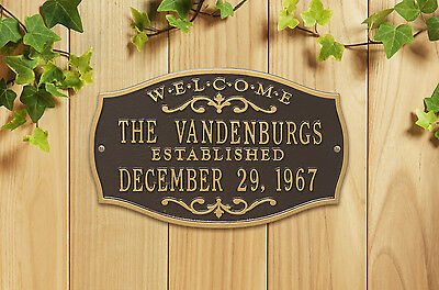 Brookfield Welcome Anniversary Personalized Plaque