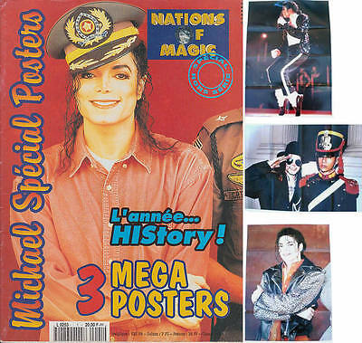 Michael Jackson Nations of Magic French FR Magazine Poster Posters Hors-Série
