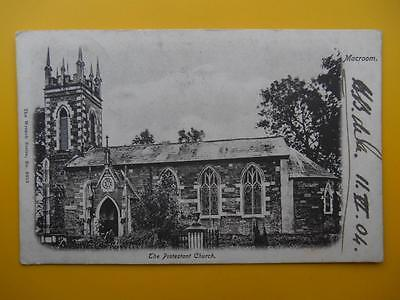 Protestant Church MACROOM County Cork Ireland - Wrench Series 1904 Postmark