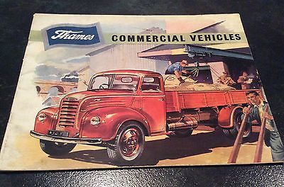 Ford Thames Commercial Vehicles Brochure