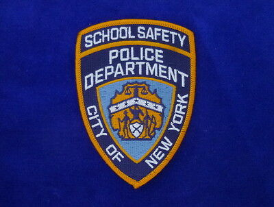 NYPD School Safety Patch