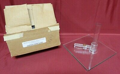 Adjustable Rotary Cutter * With Glass Cutting Base * Model 998 * Used