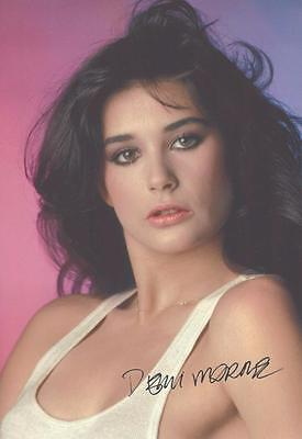 """12""""x8"""" Signed Photograph of Demi Moore - Plus Cert of Authenticity"""