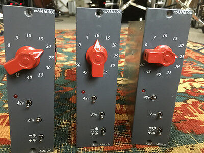 ONE LEFT! Audio Maintenance Limited ezAM16 Microphone Preamp500 series Carnhill