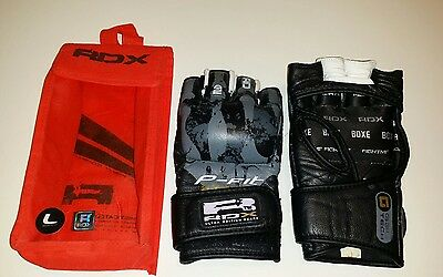 RDX P-Fit System Grappling Gloves Size L