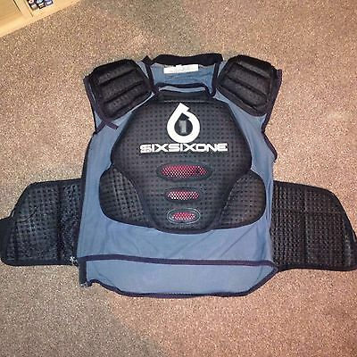661 Body Protection/back Protector Size Medium
