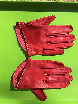 Womans Leather Gloves By Imoni France *new* Beautiful!
