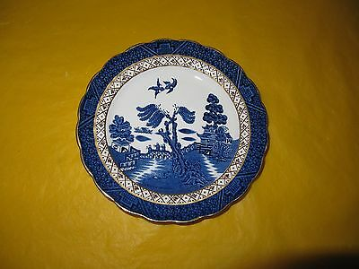 """ROYAL DOULTON/BOOTHS REAL OLD WILLOW MAJESTIC COLLECTION SIDE/TEA PLATES dia 7"""""""